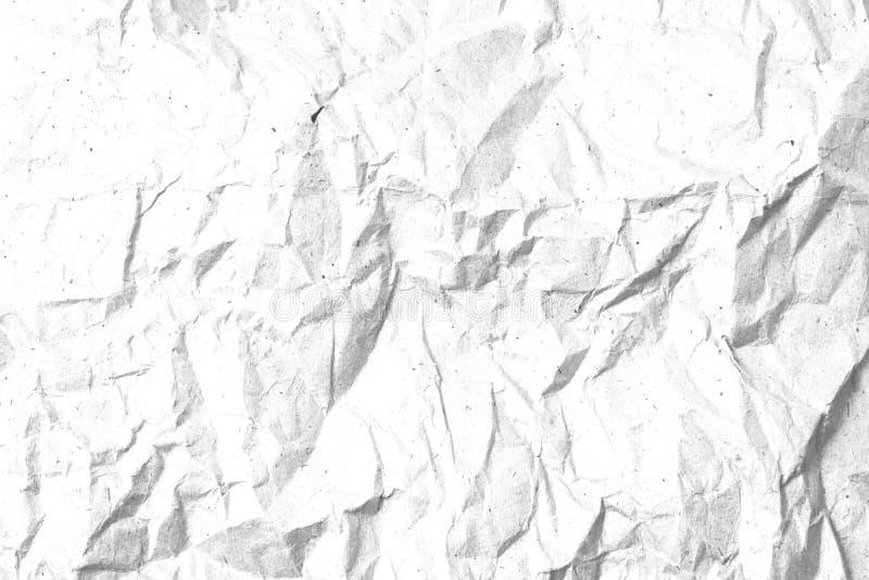 Calibre de papier chiffonné de texture pour le recouvrement images stock