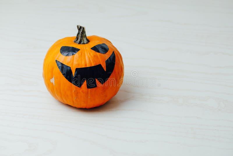 calibre de potiron de Jack-o-lanterne pour Halloween photos libres de droits