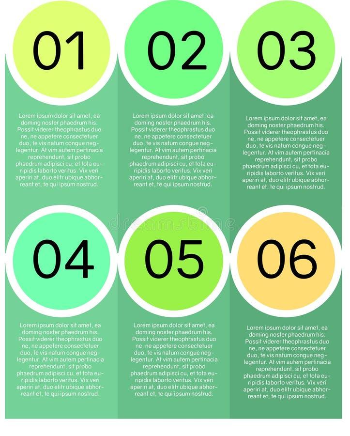 Calibre de présentation de cercle illustration stock