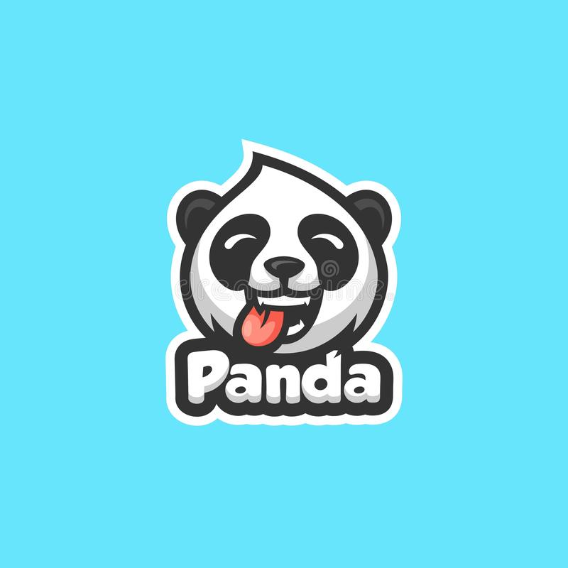 Calibre de vecteur d'illustration de Panda Concept illustration libre de droits