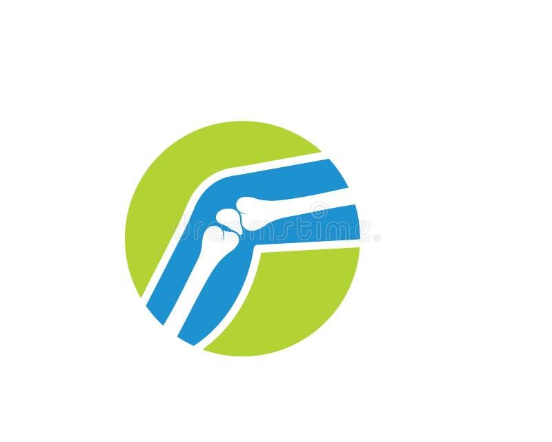 Calibre de vecteur de logo d'os illustration de vecteur