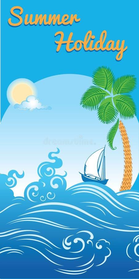 Calibre de voyage illustration stock