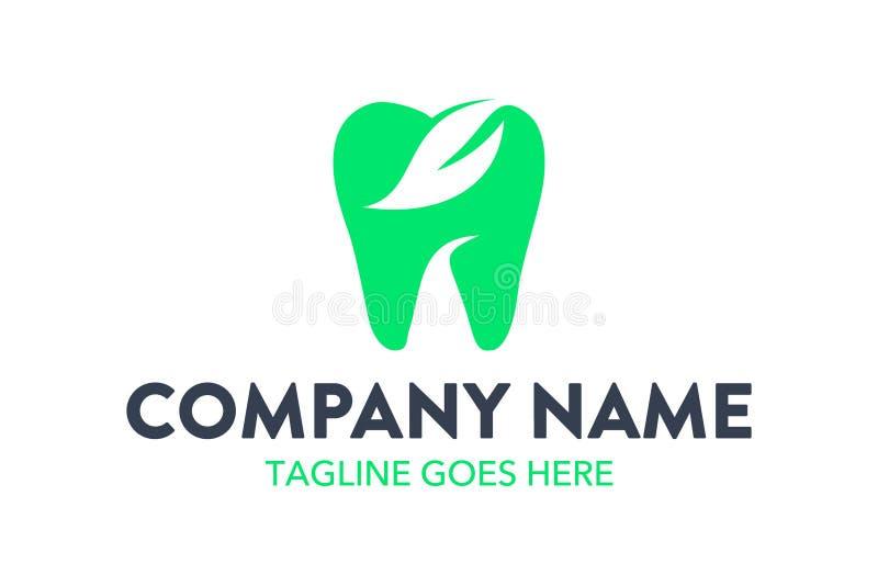 Calibre dentaire unique et original de logo illustration de vecteur
