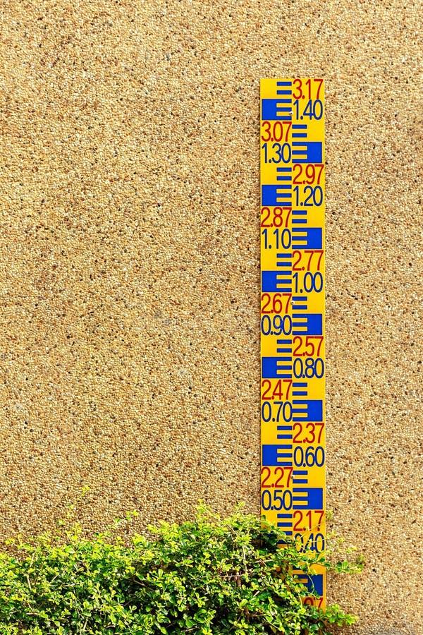 Calibre do pessoal contra o muro de cimento imagem de stock