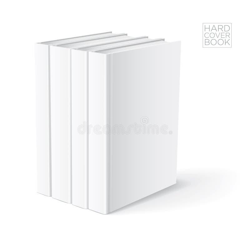 Calibre dur de livre de couverture illustration stock