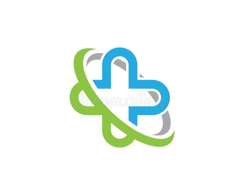 Calibre médical de logo de santé illustration de vecteur