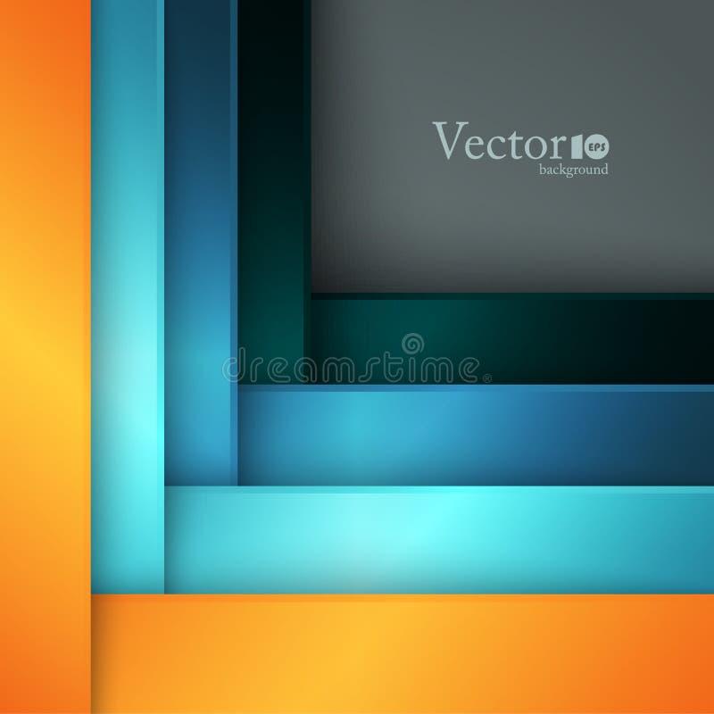 Calibre moderne abstrait illustration de vecteur