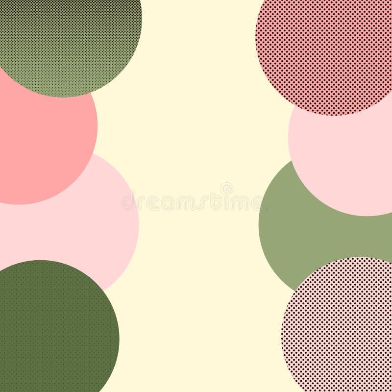 Calibre moderne d'affaires pour la conception de fond de Web Memphis Pattern Background Logo abstrait d'affaires Conception graph illustration libre de droits