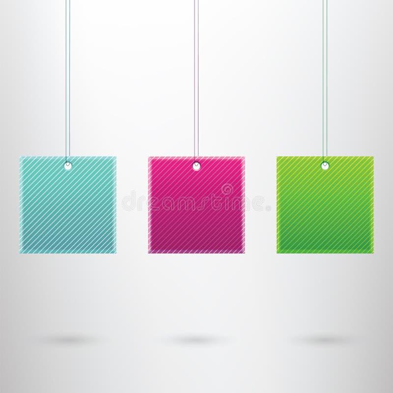 Calibre moderne de bannière illustration de vecteur