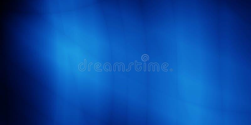 Calibre mou de résumé de fond d'en-têtes bleus mous de modèle illustration de vecteur