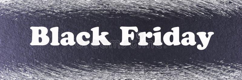 Calibre noir abstrait de bannière de Black Friday photographie stock libre de droits