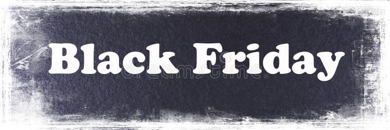 Calibre noir abstrait de bannière de Black Friday images libres de droits