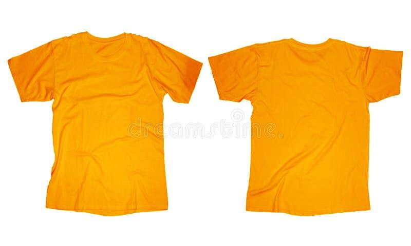 Calibre orange de T-shirt photographie stock libre de droits