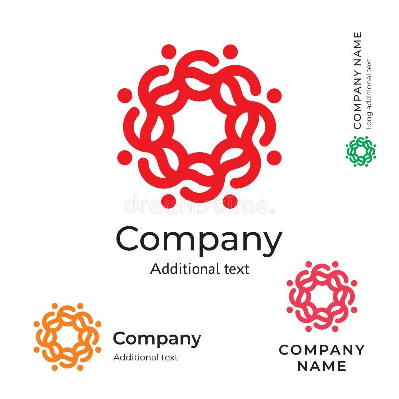 Calibre réglé de concept traditionnel d'icône de symbole de marque de beauté de Logo Ornament Folk Stylish Identity de fleur illustration de vecteur