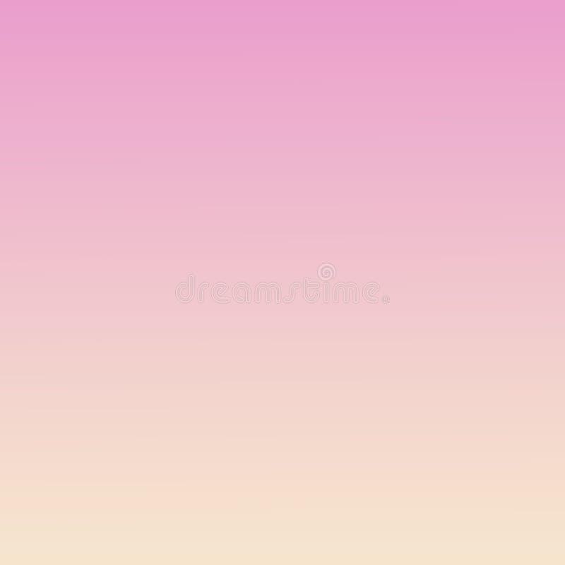 Calibre trouble mou de gradient d'Ombre de pêche fond de ressort rose millénaire en pastel d'abrégé sur illustration libre de droits