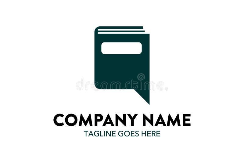 Calibre unique de logo d'éducation illustration libre de droits