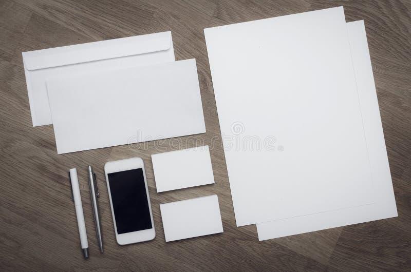 Calibre vide de conception d'en-tête de lettre photo libre de droits