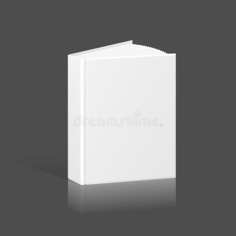 Calibre vide de livre, de reliure ou de dossier illustration de vecteur