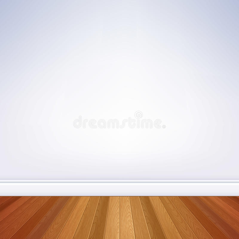 Calibre vide de mur et de plancher de pièce illustration stock