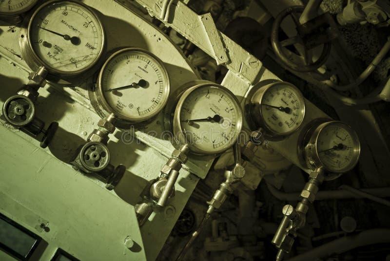 Calibres submarinos foto de stock