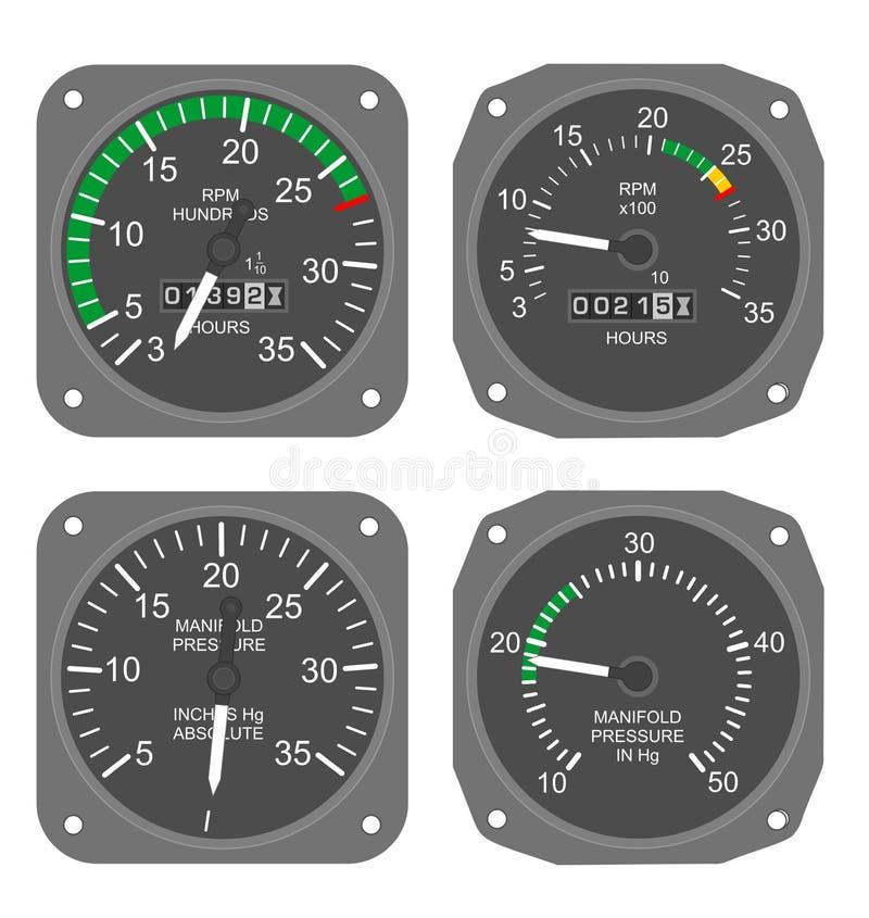 Calibri dei velivoli (#3) immagini stock