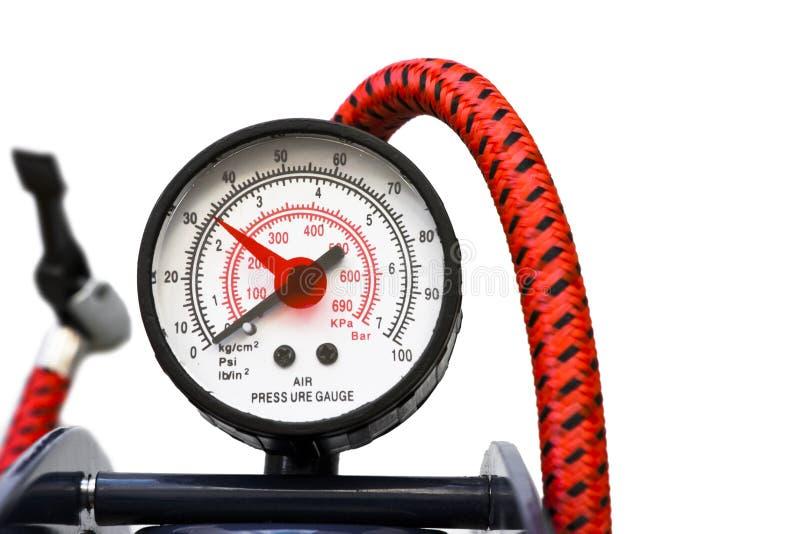 Calibro di pressione d'aria immagine stock