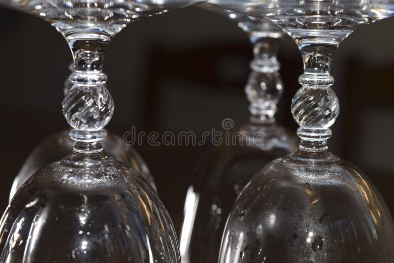 Calice a cristallo fotografie stock libere da diritti