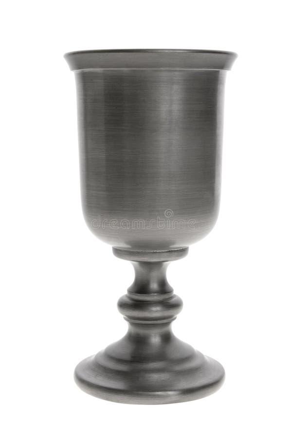 Calice d'argento fotografie stock