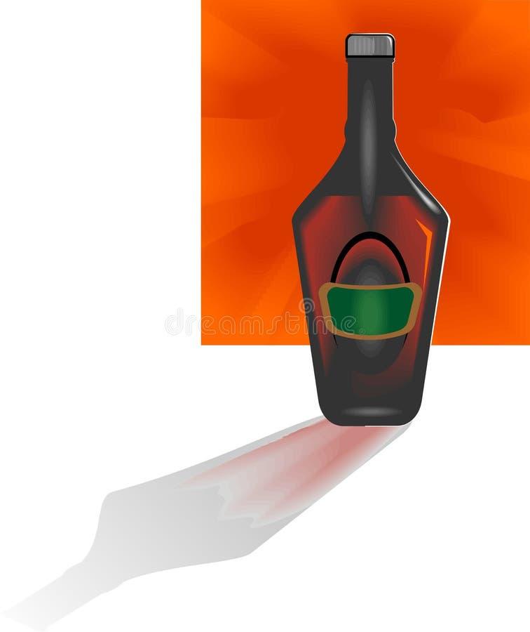 Calice di vino illustrazione vettoriale