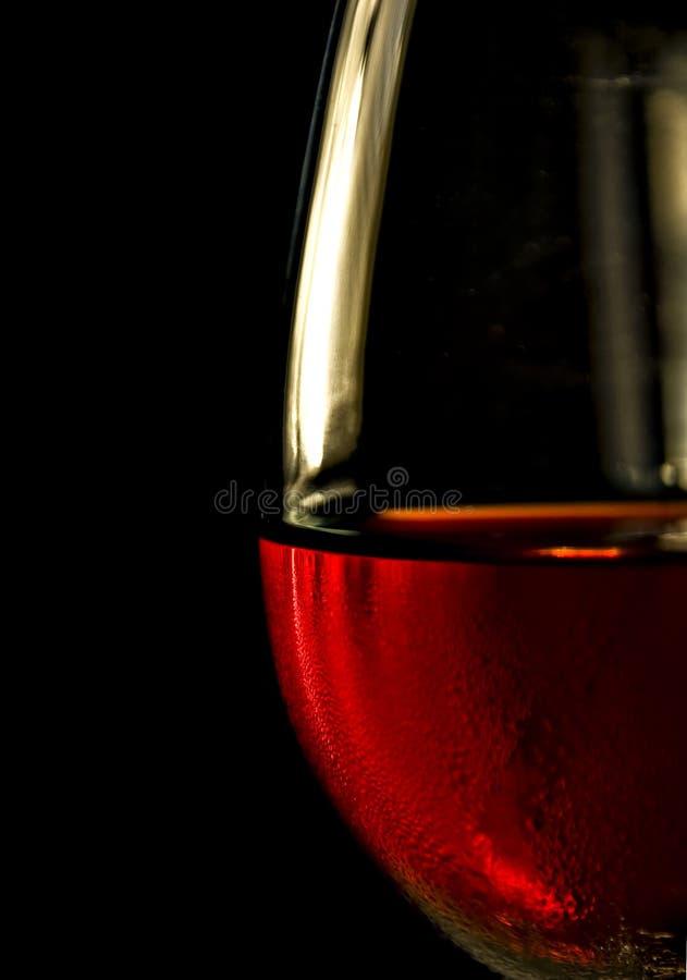Calice più vicino del vino fotografia stock libera da diritti