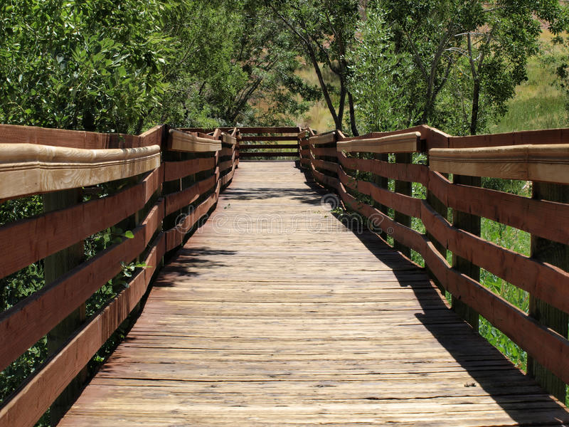 Download Calico Basin Red Spring Boardwalk Stock Image - Image: 17326655