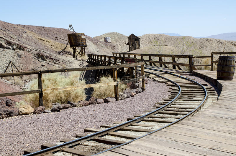 Calico ghost town stock images