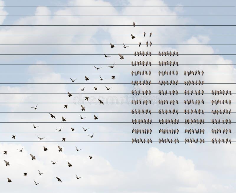 Calidad de miembro cada vez mayor stock de ilustración