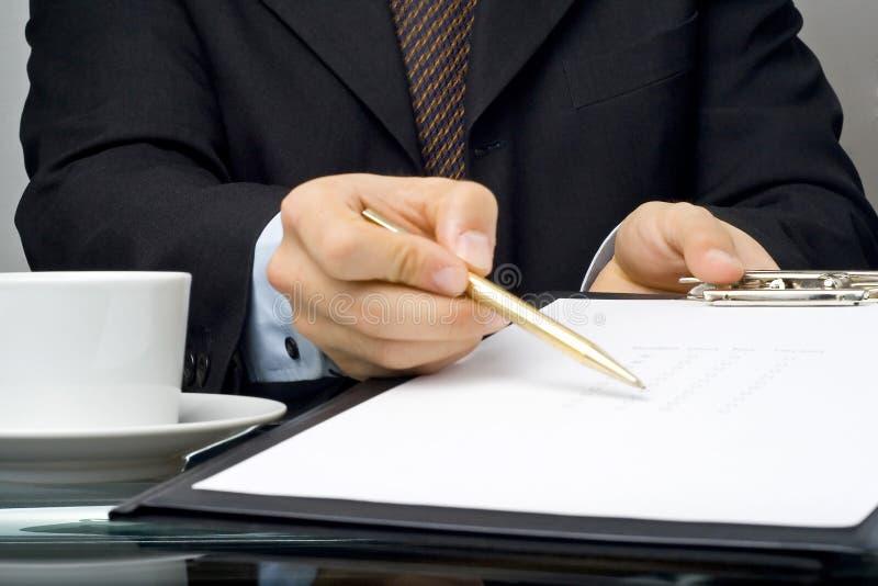 Calidad De Servicio Del Cuestionario De La Lista De Comprobación Fotografía de archivo libre de regalías