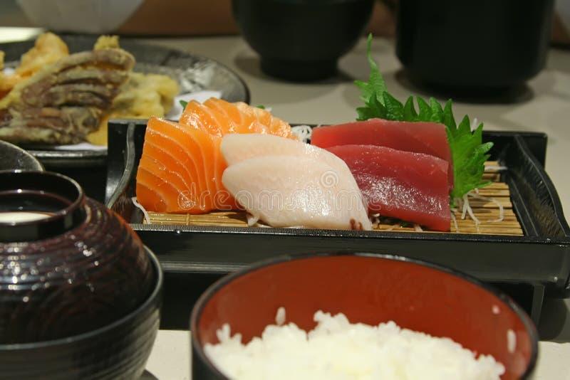 Calidad del Sashimi foto de archivo libre de regalías