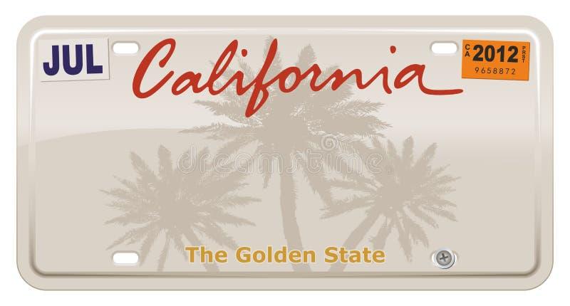 Califórnia ilustração do vetor