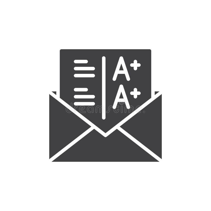 Califica vector del icono libre illustration