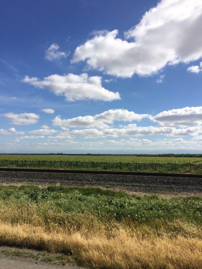 Californië Farmscape stock afbeeldingen