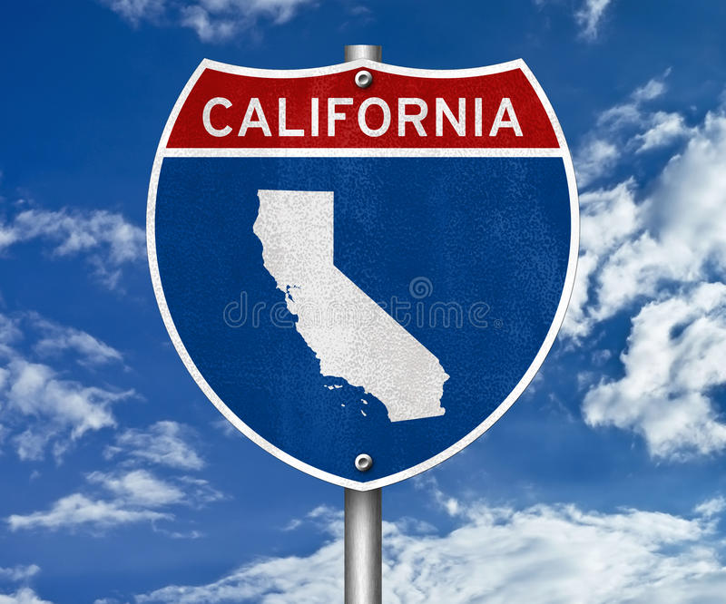 california ilustracji