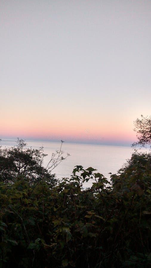 California beach sunset stock photos