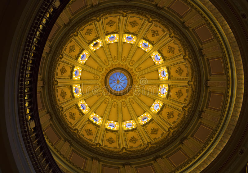 california capitol rotunda zdjęcie royalty free