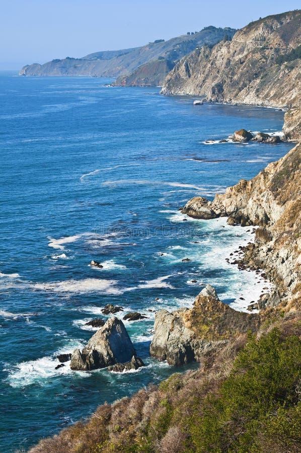 california centrali wybrzeże zdjęcia royalty free