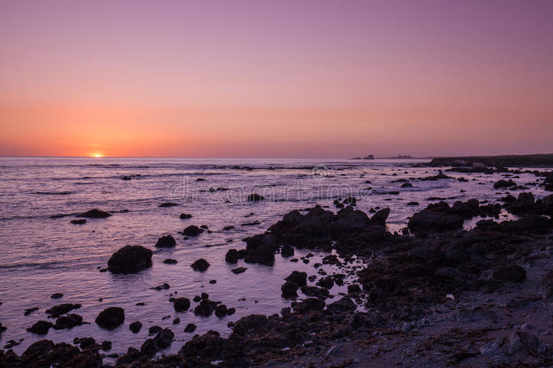 Download California Coast Sunset Stock Photo - Image: 83709387