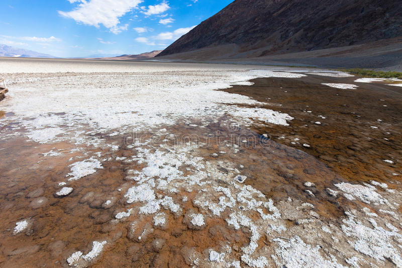 California, Death Valley. Death Valley in California, the most arid place in USA royalty free stock images