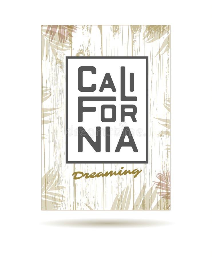 California royalty free illustration