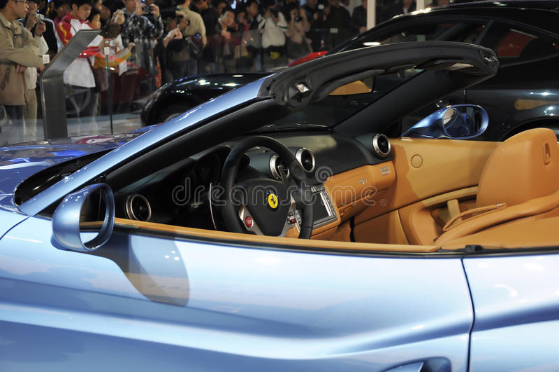 california Ferrari obraz royalty free