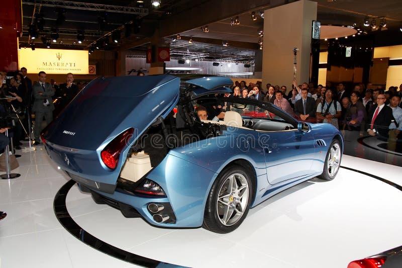 california Ferrari obrazy royalty free
