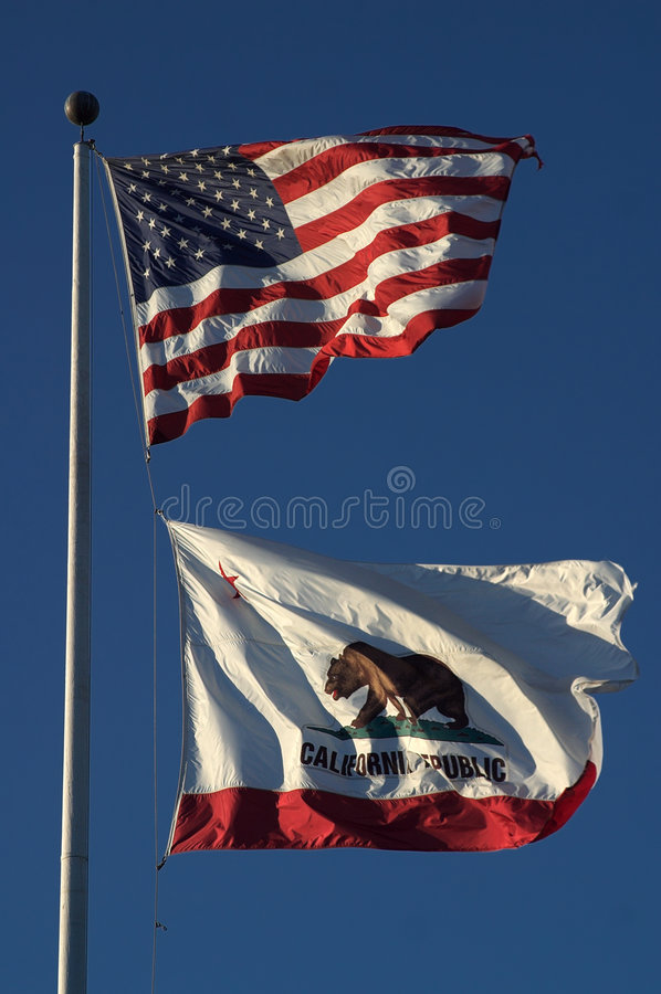 Free California Flag Royalty Free Stock Photos - 674148