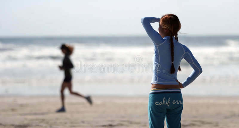 California girl royalty free stock photo