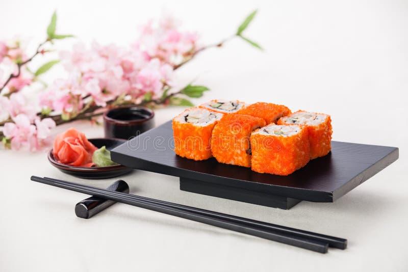 California Maki Sushi stock image